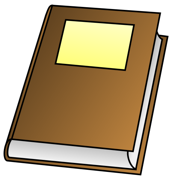 Book Clipart png free, Book transparent png
