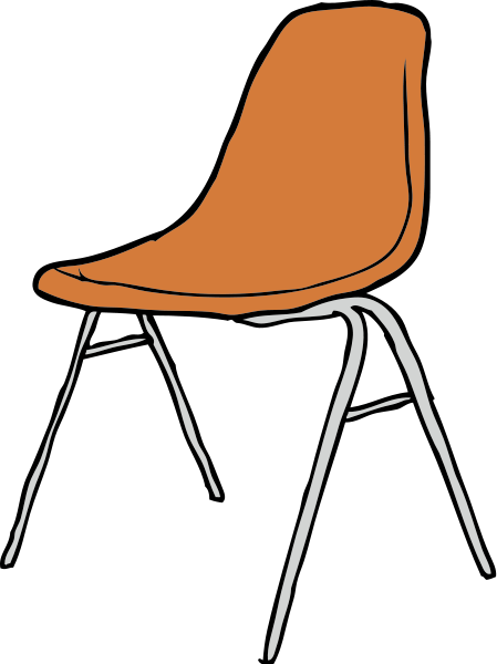 Modern Chair 3/4 Angle Clipart png free, Modern Chair 3/4 Angle transparent png