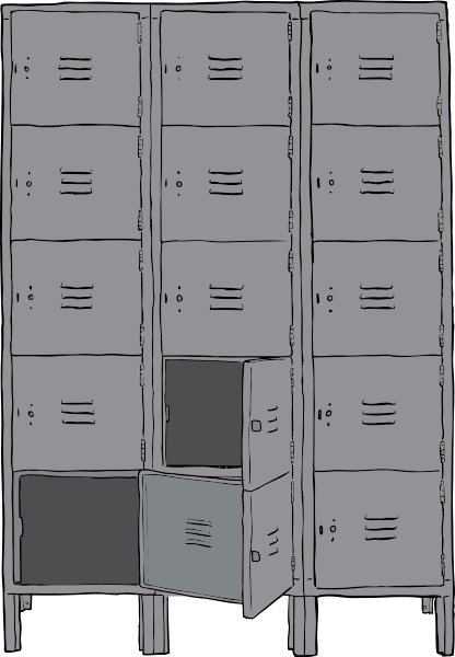 Lockers Clipart png free, Lockers transparent png