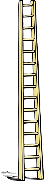 Tall Ladder Clipart png free, Tall Ladder transparent png