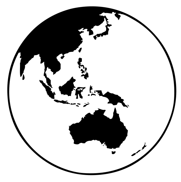 Earth Globe (Oceania) Clipart png free, Earth Globe (Oceania) transparent png