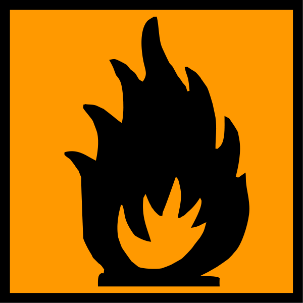 Xtremely Flammable Clipart png free, Xtremely Flammable transparent png