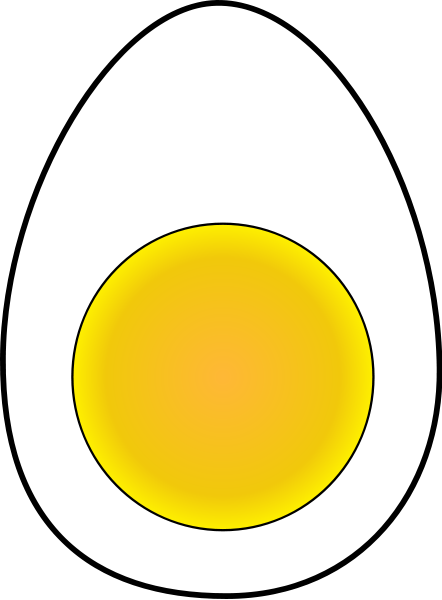 Soft Boiled Egg Clipart png free, Soft Boiled Egg transparent png