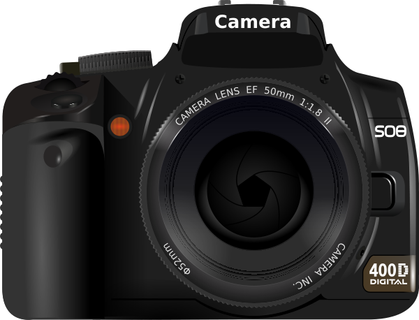 Dslr Camera Clipart png free, Dslr Camera transparent png