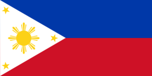 Philippines Flag Clipart png free, Philippines Flag transparent png