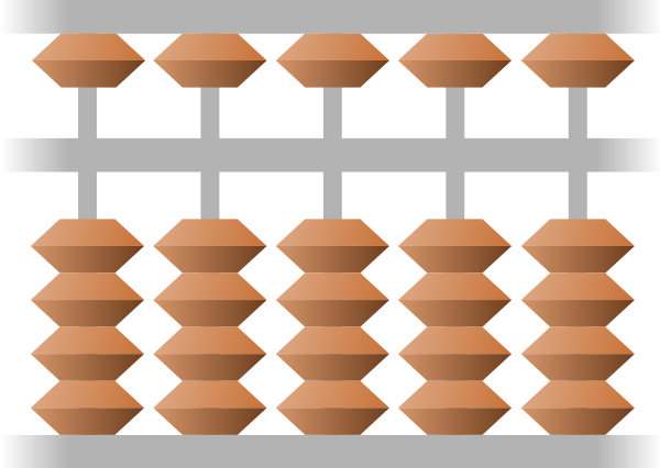 Abacus (Japanese) Clipart png free, Abacus (Japanese) transparent png