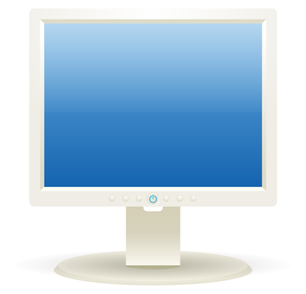 Computer Lcd Display Clipart png free, Computer Lcd Display transparent png