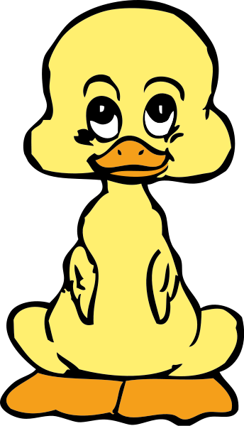 Baby Duck Clipart png free, Baby Duck transparent png