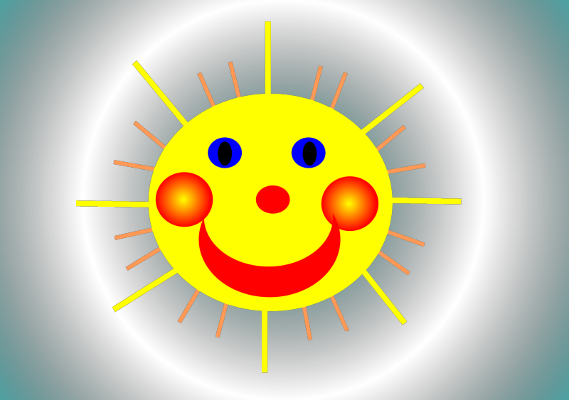 Summer Sun Clipart png free, Summer Sun transparent png