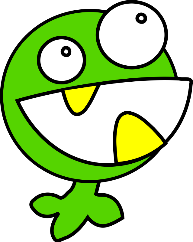 Green Monster Clipart png free, Green Monster transparent png