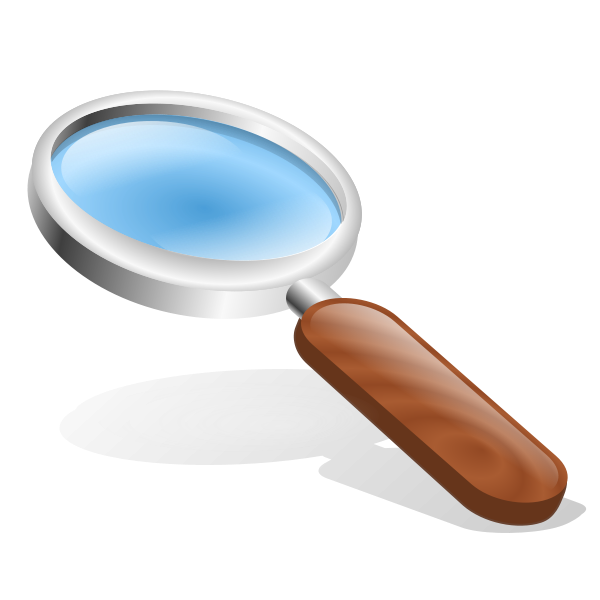 Magnifying Glass Clipart png free, Magnifying Glass transparent png