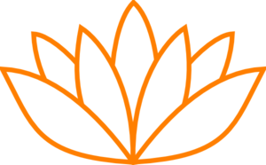 Orange Lotus Flower Picture Iii Clipart png free, Orange Lotus Flower Picture Iii transparent png