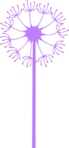 Dandelion Purple Clipart png free, Dandelion Purple transparent png