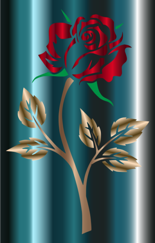 Red Rose Clipart png free, Red Rose transparent png