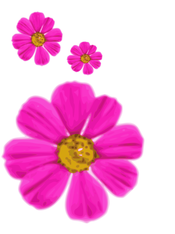 Pink Flower Clipart png free, Pink Flower transparent png