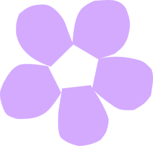 Purpleflower Clipart png free, Purpleflower transparent png