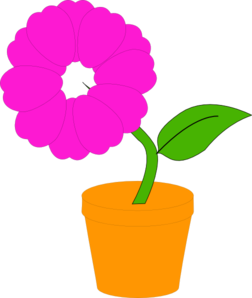 Daisy In A Flower Pot  Illustration Clipart png free, Daisy In A Flower Pot  Illustration transparent png