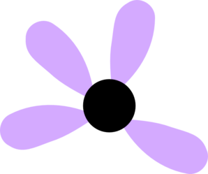 Lilac Flower Missing 4 Clipart png free, Lilac Flower Missing 4 transparent png