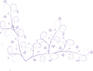 Purple Flower Vine Clipart png free, Purple Flower Vine transparent png