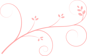 Paisley Pink Leaves Clipart png free, Paisley Pink Leaves transparent png