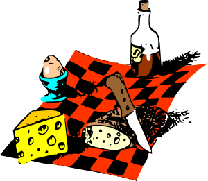 Picnic Food Clipart png free, Picnic Food transparent png