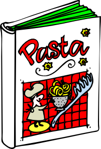 Italian Cooking Book Clipart png free, Italian Cooking Book transparent png