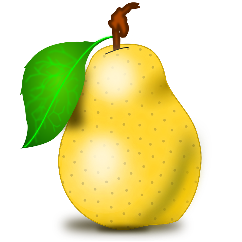 Pear Clipart png free, Pear transparent png
