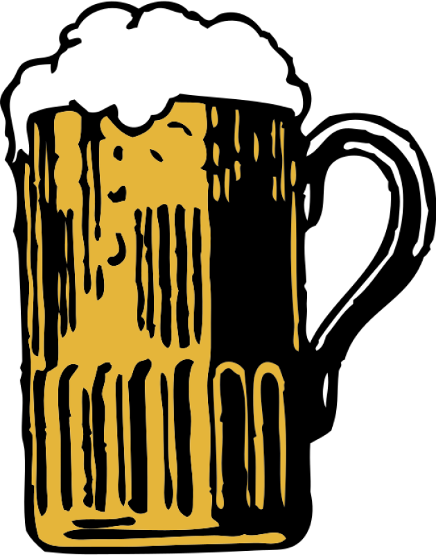 Beer Mug Clipart png free, Beer Mug transparent png