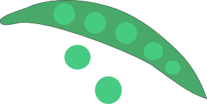 Green Peas Clipart png free, Green Peas transparent png