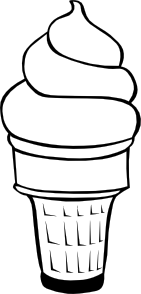 Soft Ice Cream Cones Ff Menu Clipart png free, Soft Ice Cream Cones Ff Menu transparent png