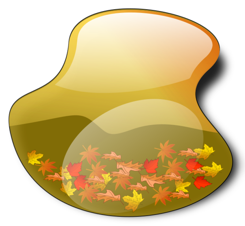 Fall Landscape 4 Clipart png free, Fall Landscape 4 transparent png