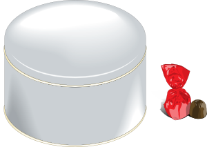 Sweets Can Clipart png free, Sweets Can transparent png