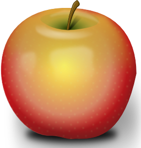 Photorealistic Red Apple Clipart png free, Photorealistic Red Apple transparent png