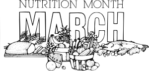 National Nutrition Month March Clipart png free, National Nutrition Month March transparent png