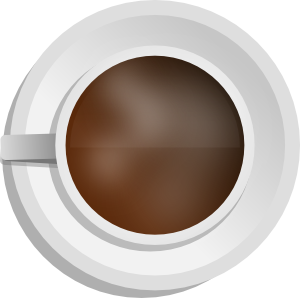 Mokush Realistic Coffee Cup Top View Clipart png free, Mokush Realistic Coffee Cup Top View transparent png
