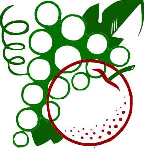 Organge Grapes Cartoon Clipart png free, Organge Grapes Cartoon transparent png
