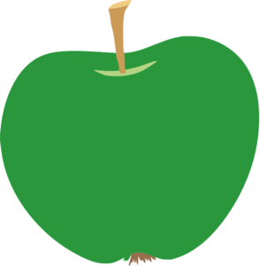 Green Apple Clipart png free, Green Apple transparent png
