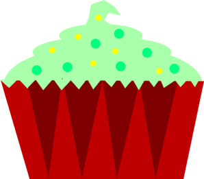 Christmas Cupcake  Clipart png free, Christmas Cupcake  transparent png