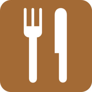 Food Service Brown Clipart png free, Food Service Brown transparent png