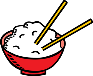 Bowl Of Rice And Chopsticks Clipart png free, Bowl Of Rice And Chopsticks transparent png