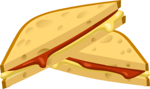 Expensive Grilled Cheese Clipart png free, Expensive Grilled Cheese transparent png
