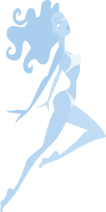Jumping Girl Clipart png free, Jumping Girl transparent png