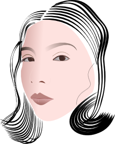 Face Of A Lady Clipart png free, Face Of A Lady transparent png