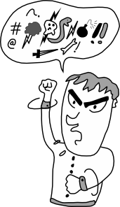 Screaming And Yelling Guy Clipart png free, Screaming And Yelling Guy transparent png