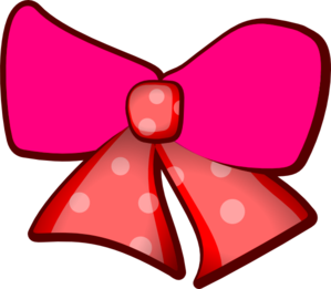 Pink Bows Clipart png free, Pink Bows transparent png