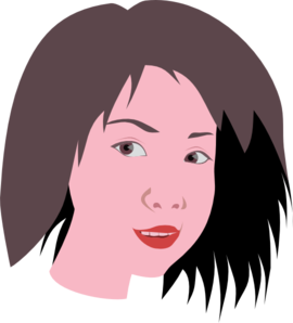 Asian Woman Clipart png free, Asian Woman transparent png