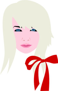 Blonde Female Clipart png free, Blonde Female transparent png