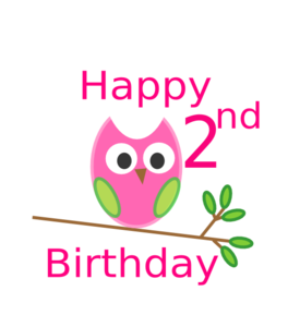 Owl 1St Birthday Clipart png free, Owl 1St Birthday transparent png