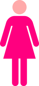 Woman Symbol  Clipart png free, Woman Symbol  transparent png