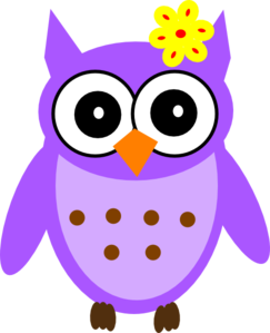 Purple Baby Girl Owl  Clipart png free, Purple Baby Girl Owl  transparent png